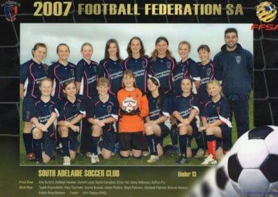U13 League Winners 2007
