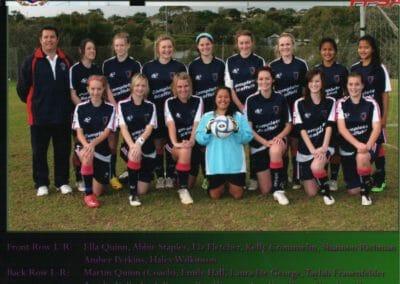 U17 League Winners 2010