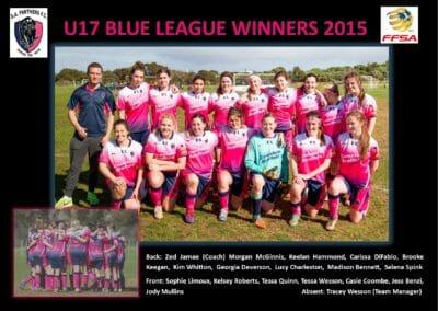 U17 League Winners 2015
