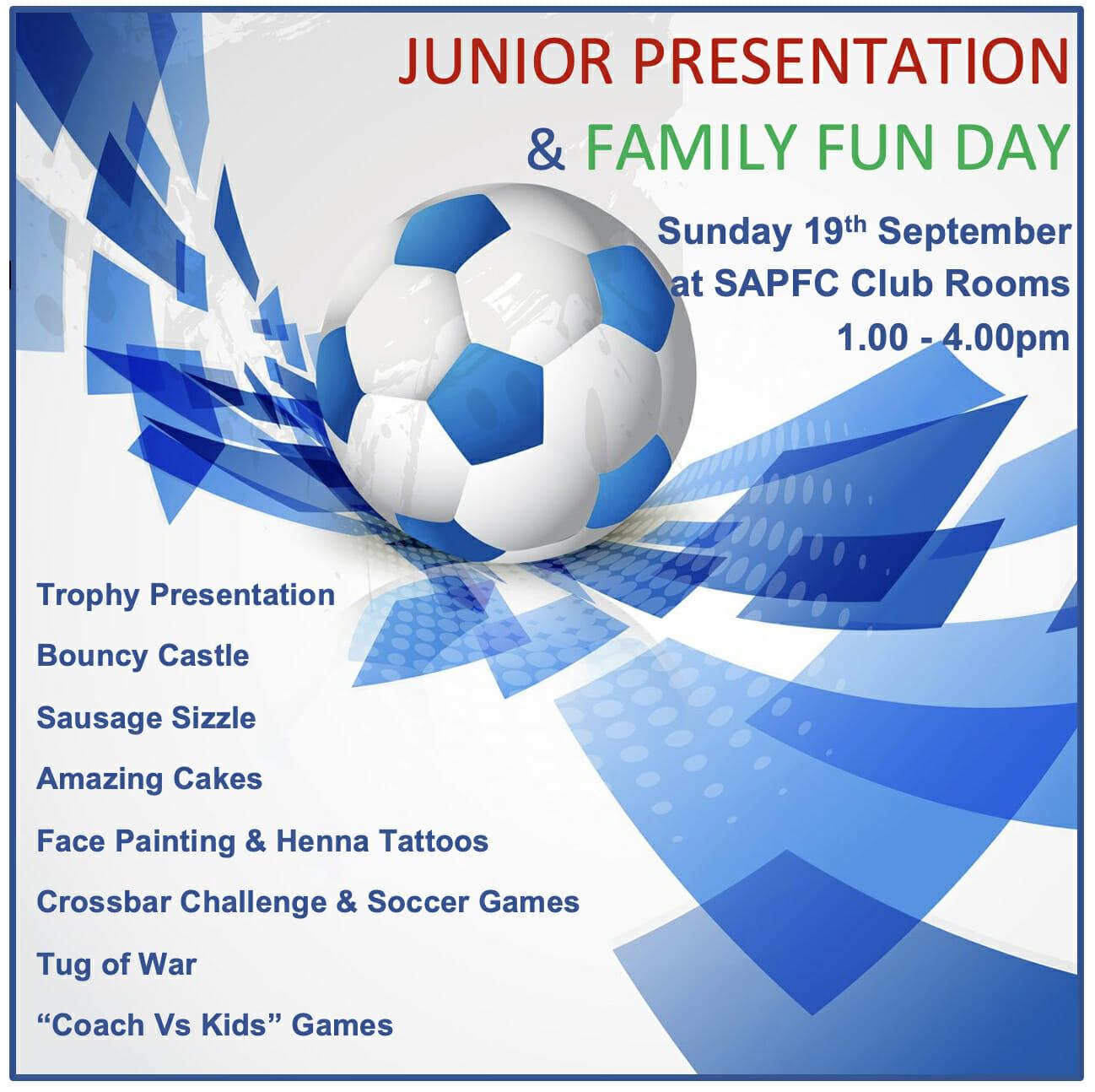 Junior Presentation & Family Fun Day